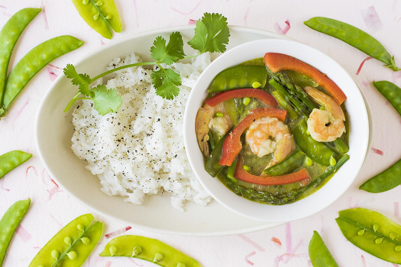 zielone curry - kuchnia Tajska na lookingforcooking.pl