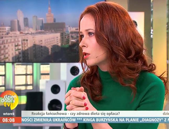 Aneta Łańcuchowska w DDTVN mówi, iż zdrowa dieta nie musi być droga.
