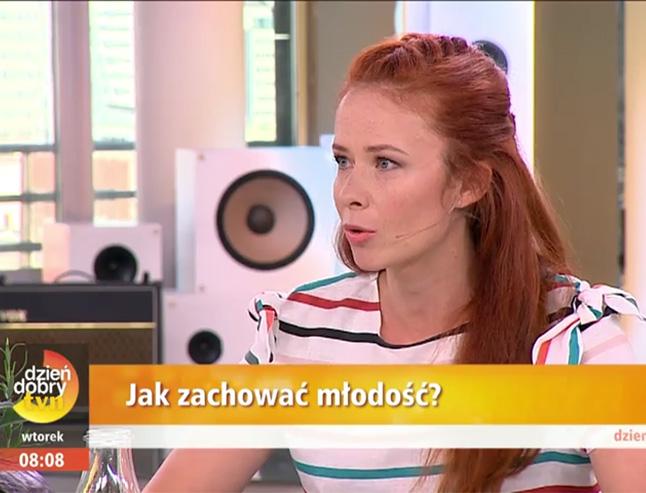 Aneta Łańcuchowska na żywo w Dzień Dobry TVN opowiada o antyoksydantach