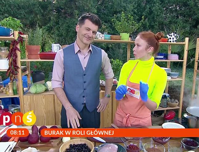 Aneta Łańcuchowska i Tomasz Kammel na żywo w Pytanie na Śniadanie