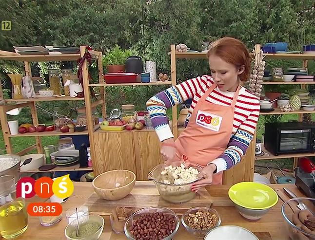 Aneta Łańcuchowska gotuje w Pytaniu na Śniadanie