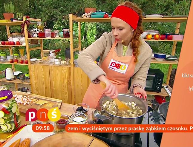 Aneta Łańcuchowska w Pytaniu na Śniadanie - gotowanie na żywo