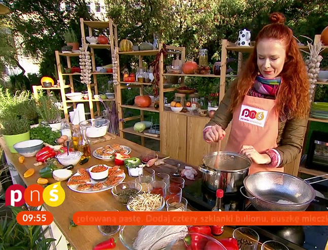 Anata Łańcuchowska - gotujący dietetyk w Pytaniu na Śniadanie