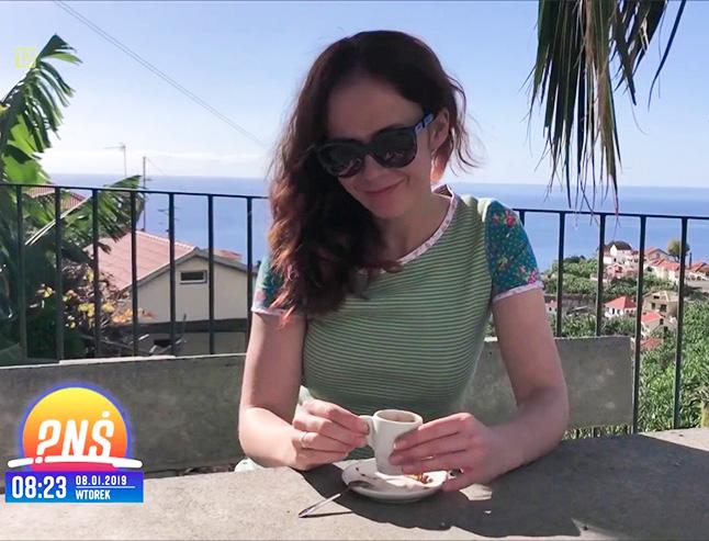 Anety Łańcuchowska i jej reportaż z kulinarnej podróży na Maderę - Pytanie na Śniadanie