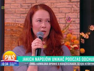 Aneta Łańcuchowska w TVP2
